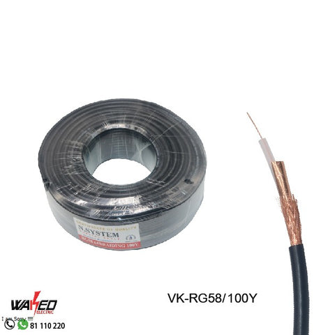Coxial Cable - RG58 - 100Y