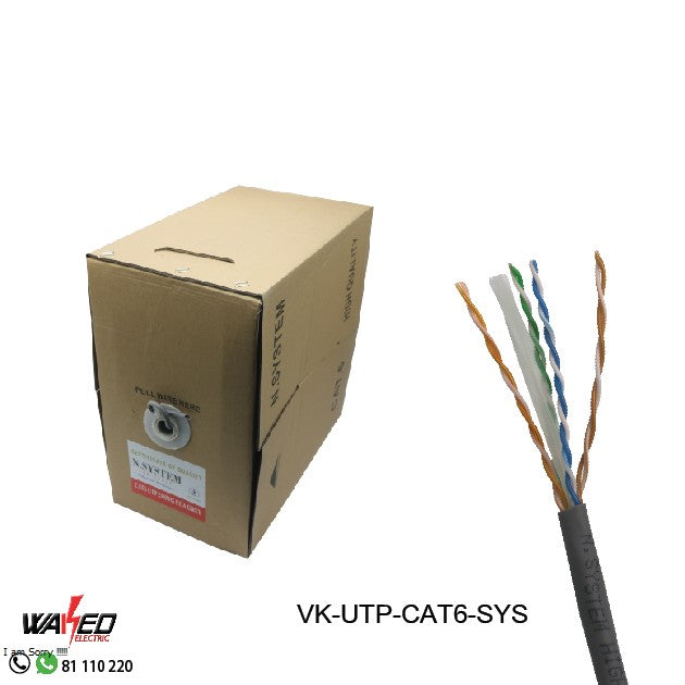 UTP Network Cable - Cat 6
