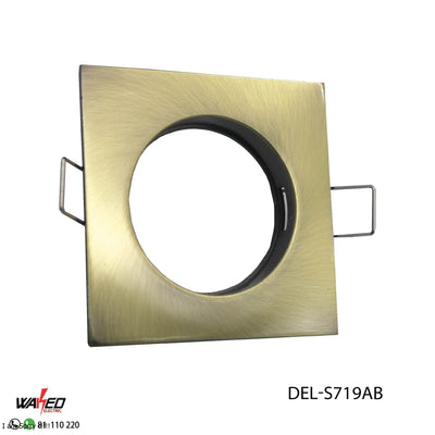 Square Spot Light - Bronze