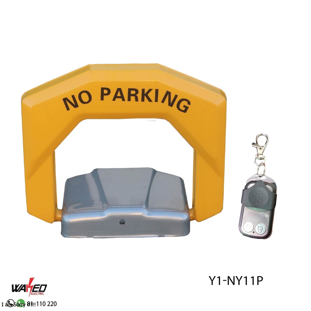 Automatic Car Parking Space Barrier Lock