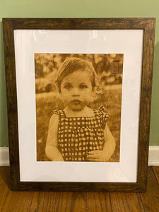 Custom Engraved Portrait