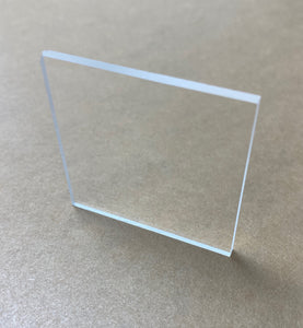 "1/8"" All Clear Acrylic Pack (20 sheets)"