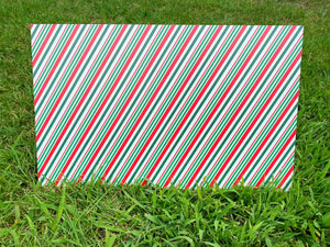PatternPly Green, Red, and White Candy Cane, 2 sided
