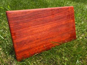 Solid Padauk Cutting Board
