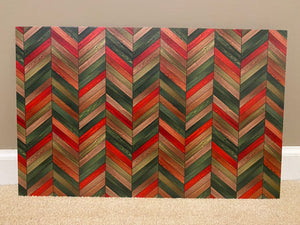 PatternPly Christmas Herringbone, 2 sided