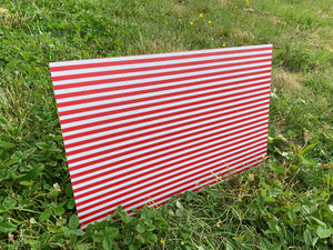 PatternPly Red and White Stripes