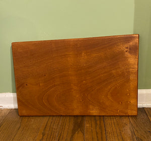 Solid Sapele Serving tray