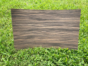 Faux Ebony Veneer 3m backed