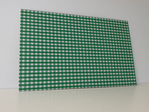 PatternPly Green Gingham