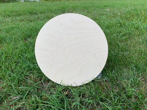 24 inch round, Baltic Birch