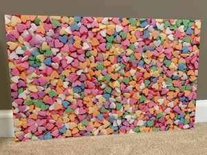 PatternPly Rainbow Candy Hearts