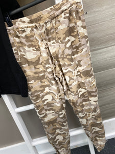 Camo Joggers With Side Pockwts
