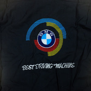 Vintage 80s/90s BMW Best Driving Machine embroidered button down shirt - M