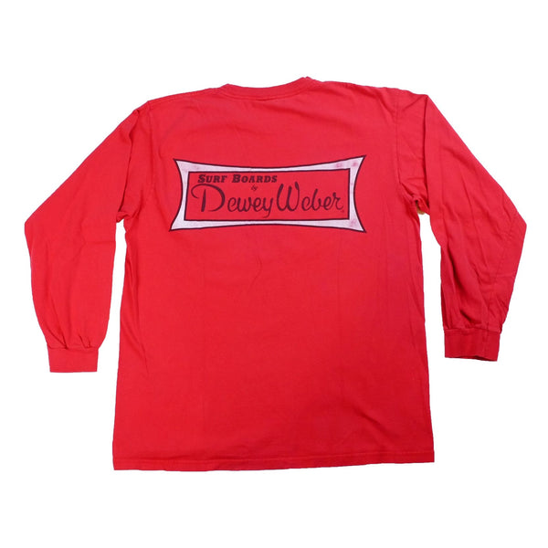 Vintage Dewey Weber Surfboards long sleeve t shirt - M