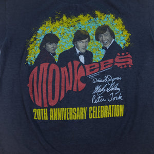 80s The Monkees Tour Band T-Shirt - M/L