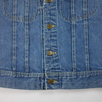 70s Lee Cut Off Denim Jean Jacket - S