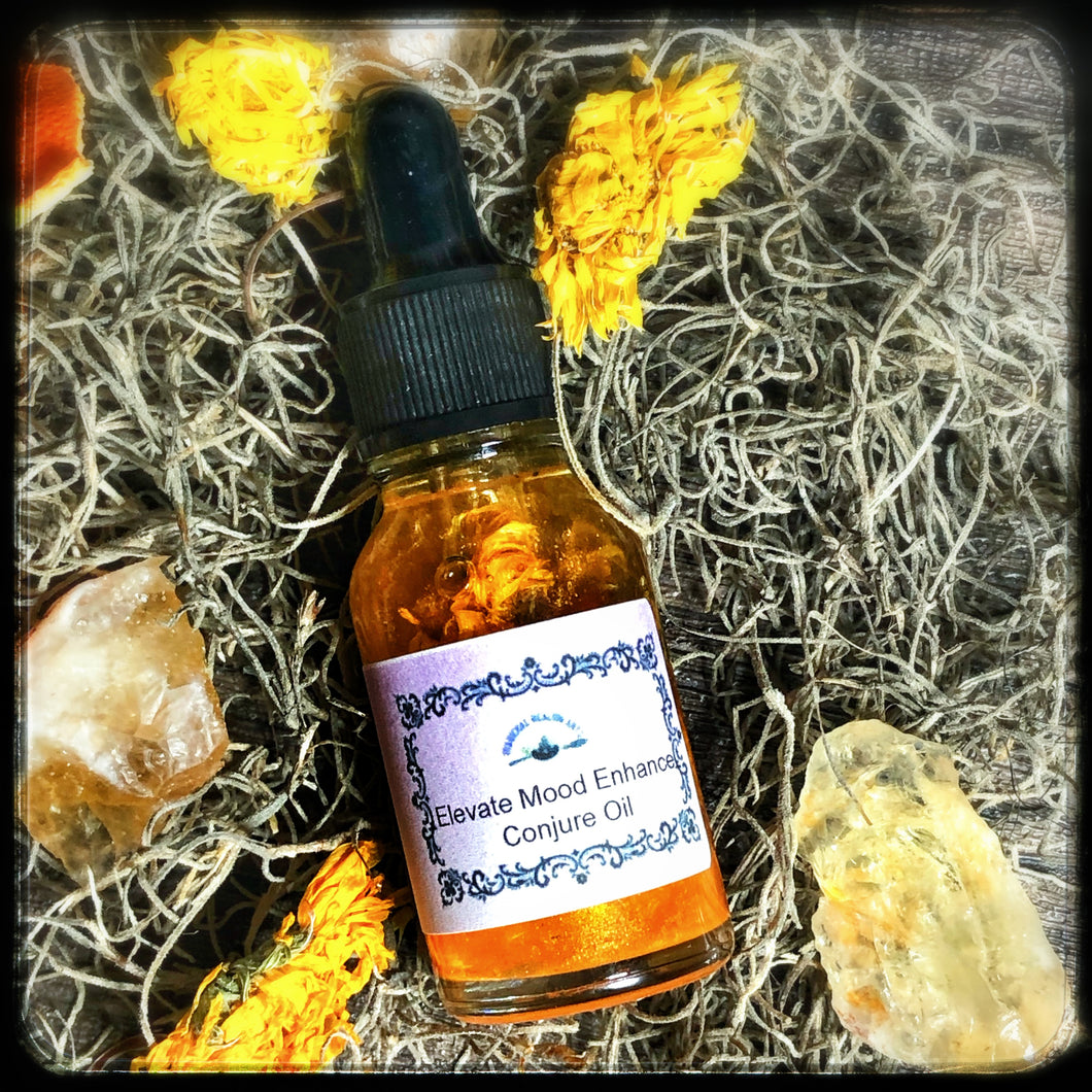 Elevate Mood Enhancing Ritual Conjure Oil- Improves Mood