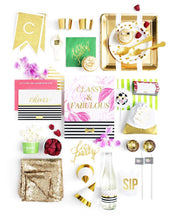 Load image into Gallery viewer, CHEERS, DARLING PARTY COLLECTION CLASSIC KATE PARTY IN A BOX - THE LUXE