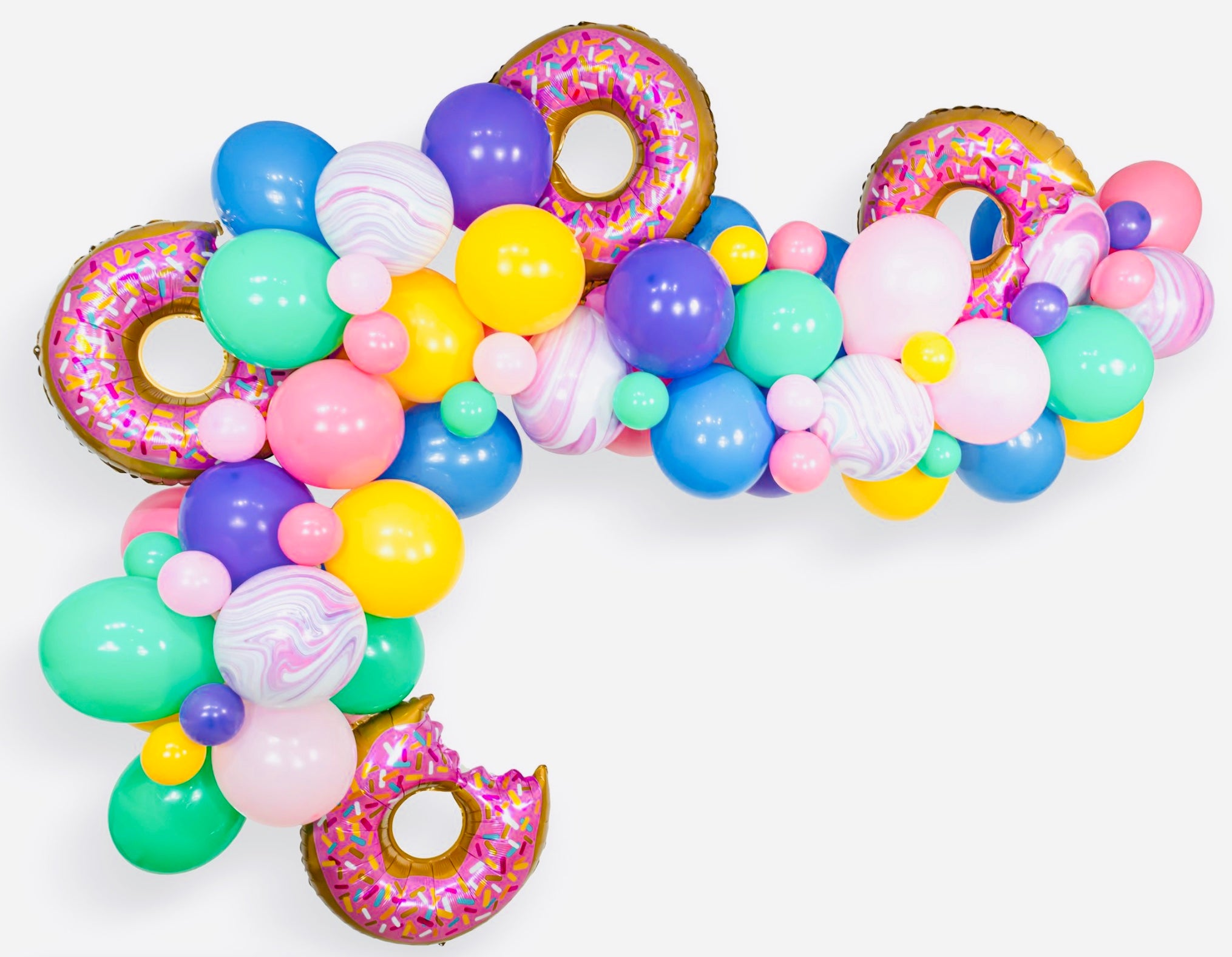 DONUTS FOREVER BALLOON GARLAND KIT