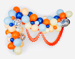 RETRO RACER BALLOON GARLAND KIT