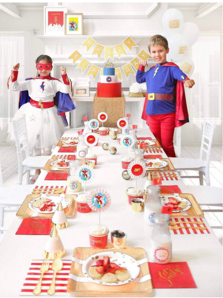 SUPERHERO PARTY IN A BOX - THE LUXE