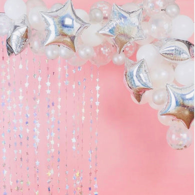 Iridescent Stargazer Balloon Arch Kit