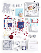 Load image into Gallery viewer, LONDON PARTY COLLECTION ROYAL PRINCE BIRTHDAY BOX - THE LUXE