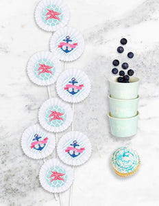 DEEP SEA PARTY COLLECTION NAUTICAL BABY SHOWER IN A BOX - THE LUXE