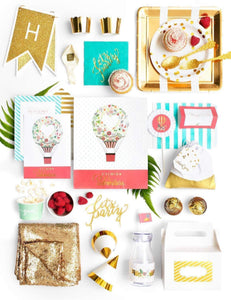 HOT AIR BALLOON PARTY IN A BOX - THE LUXE