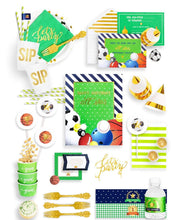 Load image into Gallery viewer, ALL STAR PLAYER PARTY COLLECTION SPORTS PARTY IN A BOX - THE FANCY