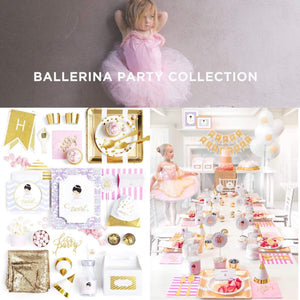 RECITAL DE BALLET PARTY COLLECTION BALLERINA PARTY BIRTHDAY BOX - THE LUXE