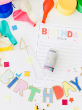 Load image into Gallery viewer, The At-Home Birthday Celebration Box