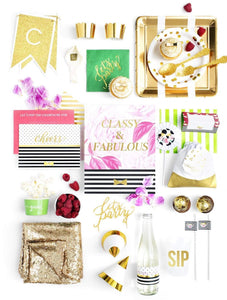CHEERS, DARLING PARTY COLLECTION CLASSIC KATE PARTY IN A BOX - THE LUXE