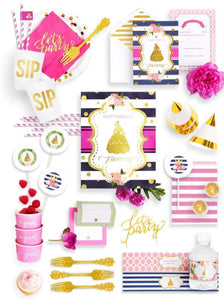 BEAUTY & THE BEAST COLLECTION PRINCESS PARTY IN A BOX - THE FANCY