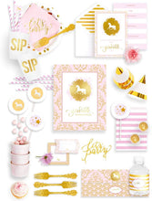 Load image into Gallery viewer, SPARKLE & SHINE PARTY COLLECTION UNICORN PARTY IN A BOX - THE FANCY