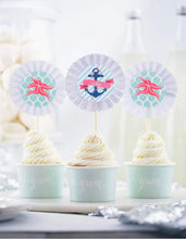 Load image into Gallery viewer, DEEP SEA PARTY COLLECTION NAUTICAL BABY SHOWER IN A BOX - THE LUXE