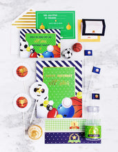 Load image into Gallery viewer, ALL STAR PLAYER PARTY COLLECTION SPORTS PARTY IN A BOX - THE LUXE