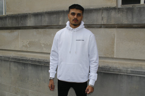 White Square One Original Hoodie