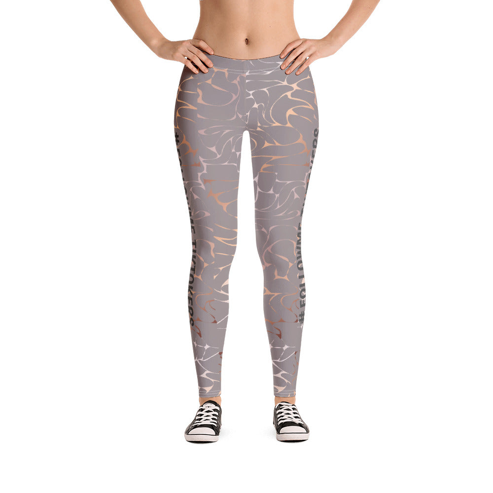 TikTokers Rose Gold Followme Legging