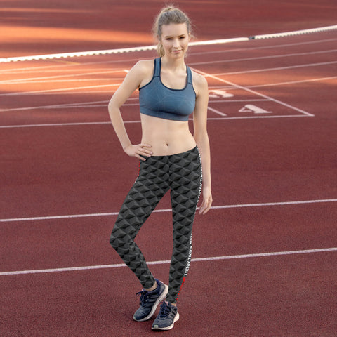 TikTokers 3D Triangle Legging