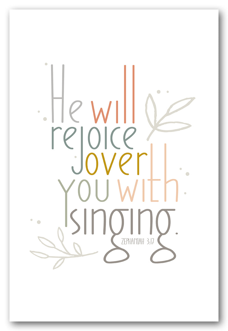 He Will Rejoice Over You