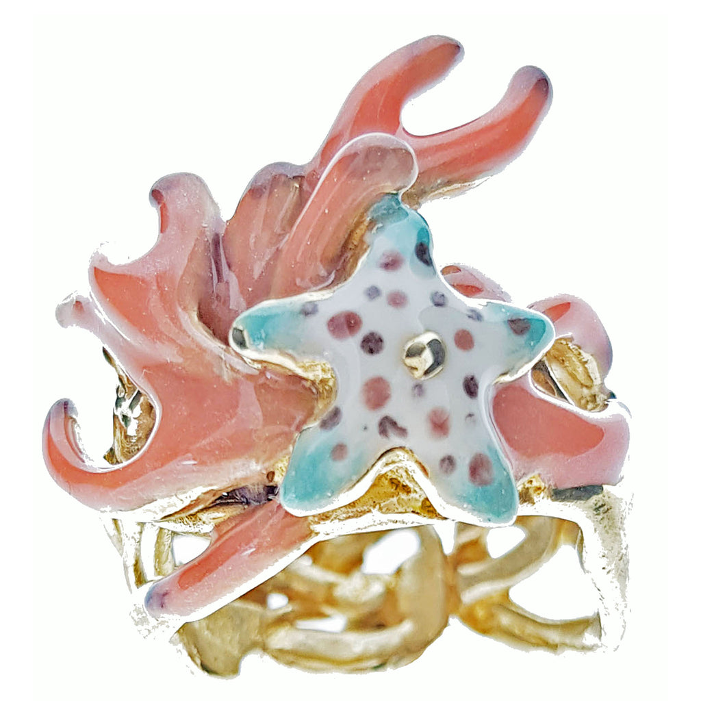 Anello StarFish - Shop-estroconcept