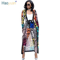 ZOOEFFBB Camouflage Snake Print Two Piece Set Women Fall Clothing Plus Size Long Coat Top Pant Sexy Club Outfits Matching Sets