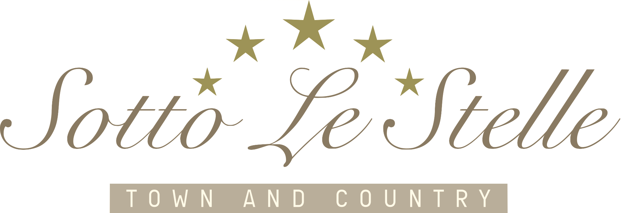 Sotto Le Stelle Logo Town and Country