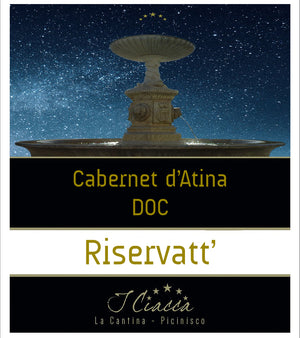 Load image into Gallery viewer, I Ciacca Cabernet d'Atina Riserva DOC 2019