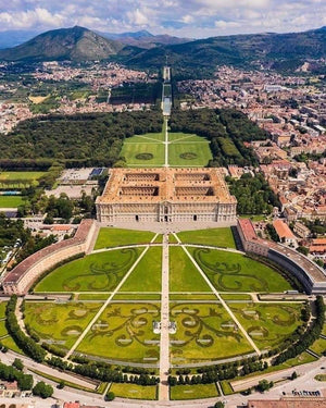 Royal Palace of Caserta and the silk town of San Leucio
