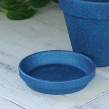 Load image into Gallery viewer, Blue flower pot