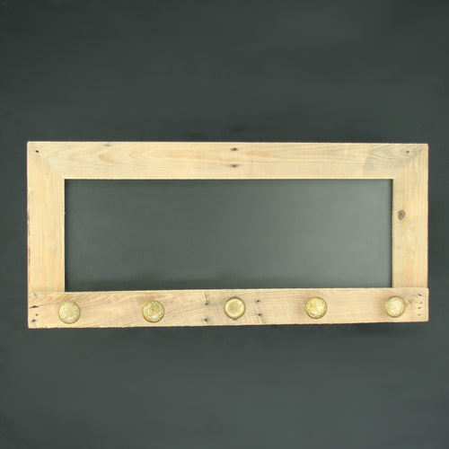 Magnetic Chalkboard Coat Rack