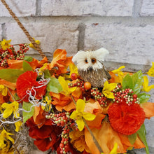Load image into Gallery viewer, Farmhouse Fall Wreath
