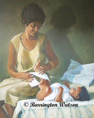 Barrington Watson's Mother and Child II